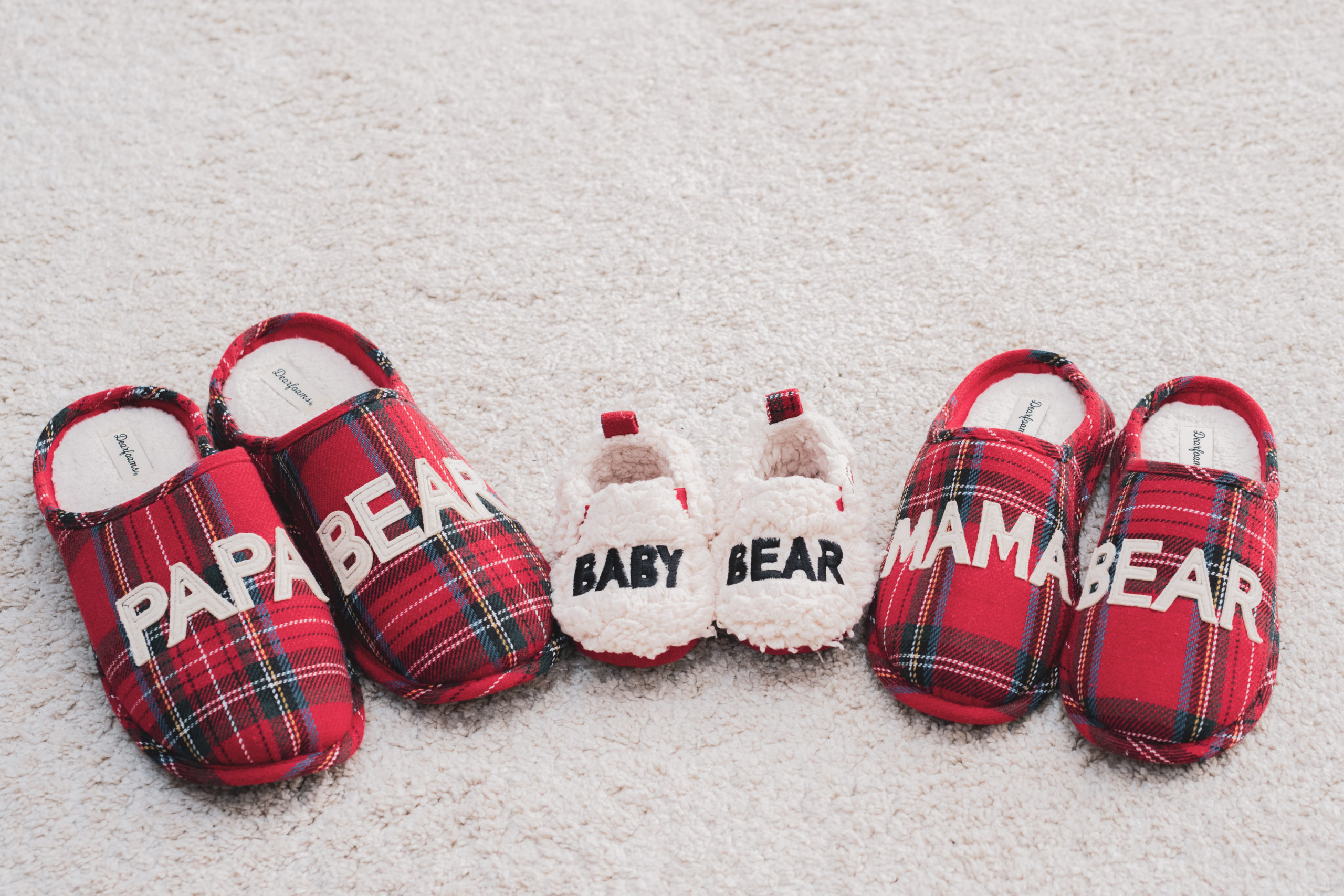 cute family slippers
